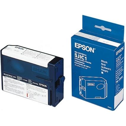 Original Tinte für EPSON TM-J8000, schwarz (SJIC1)