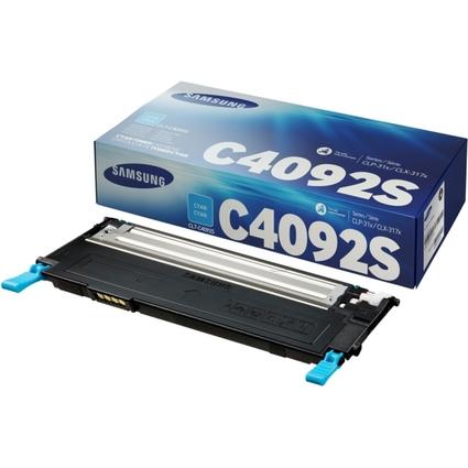 Original Toner für SAMSUNG Laserdrucker CLP 310, cyan