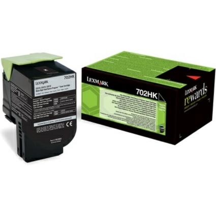 Original Rückgabe-Toner für LEXMARK CS310DN, schwarz HC