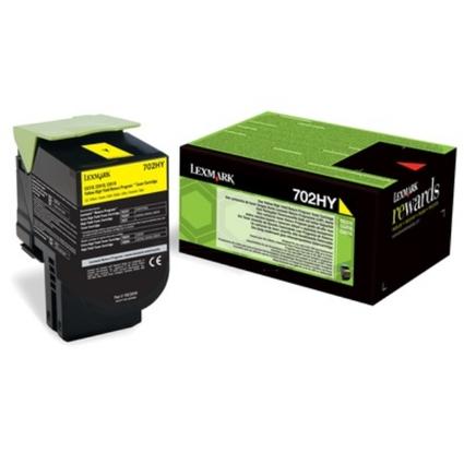Original Rückgabe-Toner für LEXMARK CS310DN, gelb HC