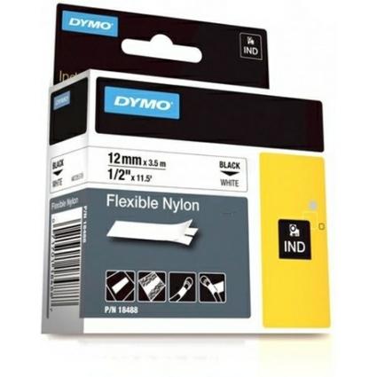 DYMO flexibles Nylonband, Breite: 12 mm, Länge: 3,5 m, weiß