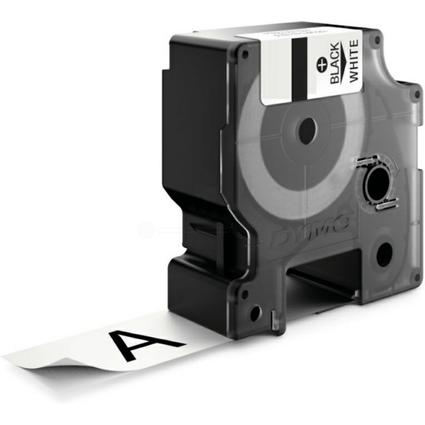 DYMO Nylon-Schriftband, Breite: 24 mm, Länge: 3,5 m, weiß
