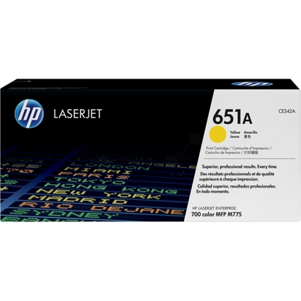 Original Toner für hp LaserJet Enterprise 700 Color, gelb