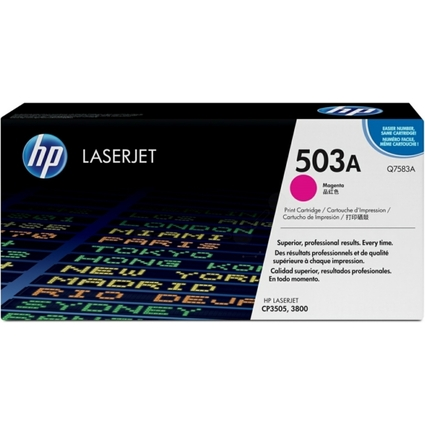 Original Toner für hp Color LaserJet 3800, magenta