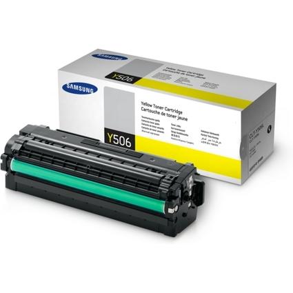 Original Toner für SAMSUNG CLP680ND/CLX6260, gelb HC