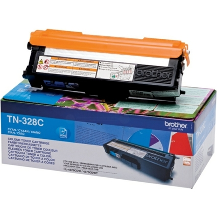 Original Toner für brother HL-4570CDW, cyan, HC
