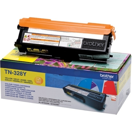 Original Toner für brother HL-4570CDW, gelb, HC