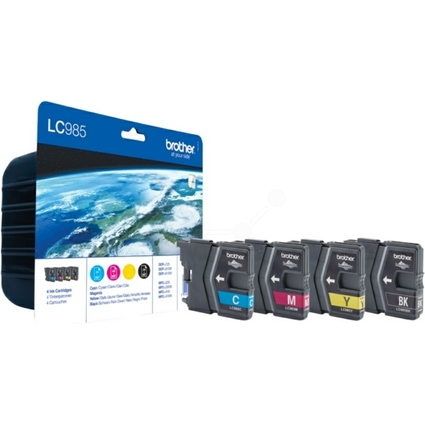 Original Tinte für brother DCP-J125/DCP-J315W, Multipack