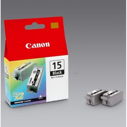 Original Tinte für Canon I70/I80, schwarz, Inhalt: 2 Stück