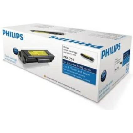 Original Toner für PHILIPS Laserfax 5120, schwarz