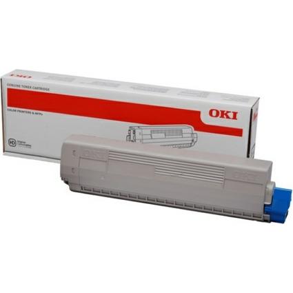 Original Toner für OKI C831, cyan