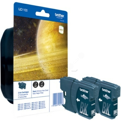 Original Tinte für brother MFC-6490CW, Twin Pack