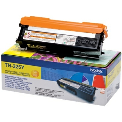 Original Toner für brother HL-4150CDN/HL-4570CDW, gelb