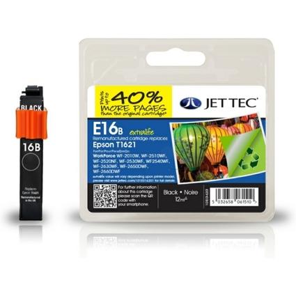 JET TEC wiederbefüllte Tinte E16B ersetzt EPSON T1621