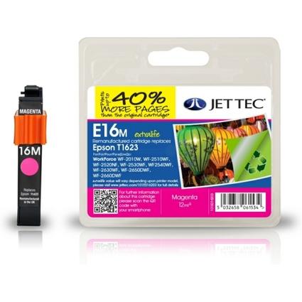 JET TEC wiederbefüllte Tinte E16M ersetzt EPSON T1623