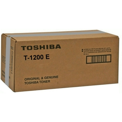 Original Toner für TOSHIBA Kopierer e-Studio 120, schwarz