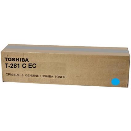 Original Toner für TOSHIBA Kopierer e-Studio 281C, cyan