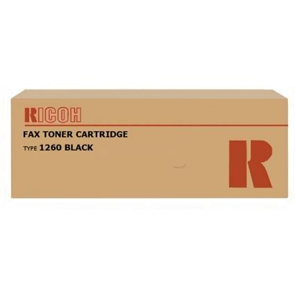 Original Toner für Fax RICOH 3310L/4410L, schwarz Typ 1260D