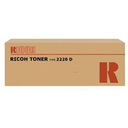 Original Toner für RICOH Kopierer Aficio 1022, schwarz