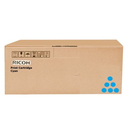 Original Toner für RICOH Laserdrucker Aficio SPC730, cyan