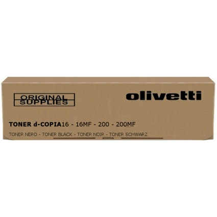 Original Toner für olivetti D-Copia 16, Copia 200, schwarz