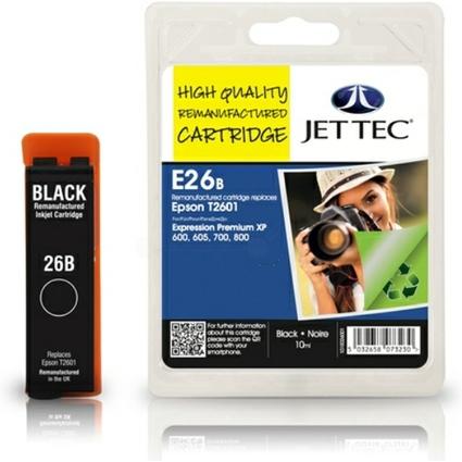 JET TEC wiederbefüllte Tinte E26B ersetzt EPSON T2601