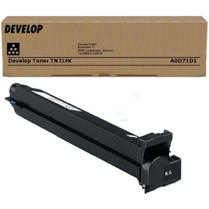 Original Toner für Develop Ineo +353, TN-314K, schwarz