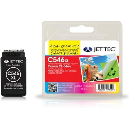 JET TEC wiederbefüllte Tinte C546XL ersetzt Canon CL-546XL