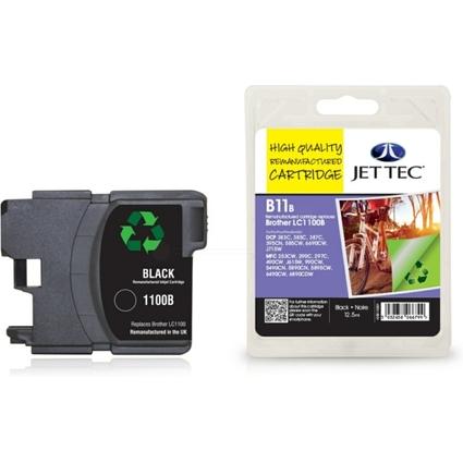 JET TEC wiederbefüllte Tinte B11B ersetzt brother LC-1100BK