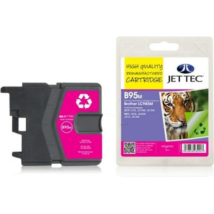 JET TEC wiederbefüllte Tinte B95M ersetzt brother LC-985M
