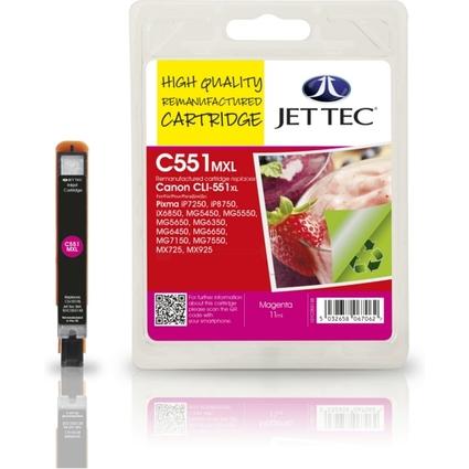 JET TEC wiederbefüllte Tinte CL51M ersetzt Canon CLI-551M