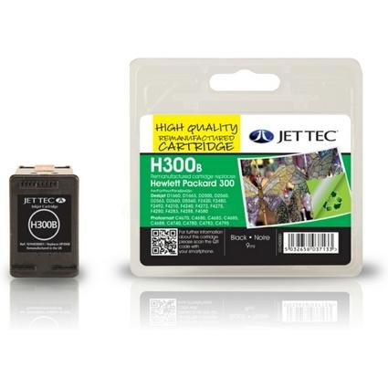 JET TEC wiederbefüllte Tinte HP300B ersetzt hp 300/
