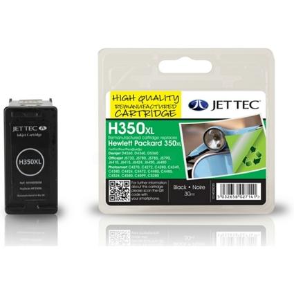 JET TEC wiederbefüllte Tinte H350 ersetzt hp CB336EE/hp350XL