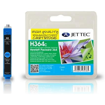 JET TEC wiederbefüllte Tinte 137H036402 ersetzt hp 364/