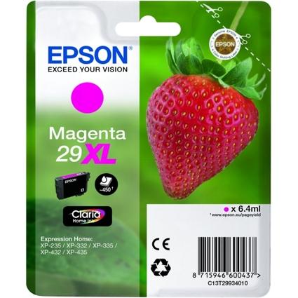 Original EPSON Tinte 29XL für Expression Home XP-235, magen