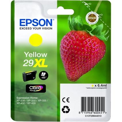 Original EPSON Tinte 29XL für Expression Home XP-235, gelb