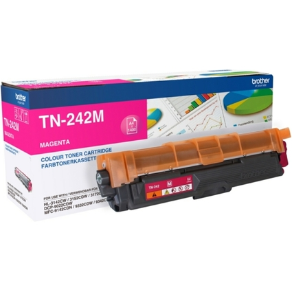 Original Toner für brother HL-3142CW, HL-3152CDW, magenta