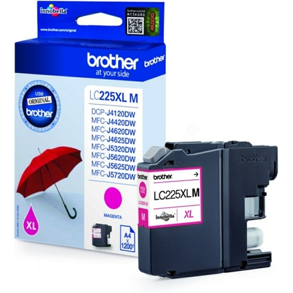 Original Tinte für brother MFC-J4420DW, magenta HC