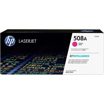 Original Toner No.508A CF363A für hp Color LaserJet, magenta