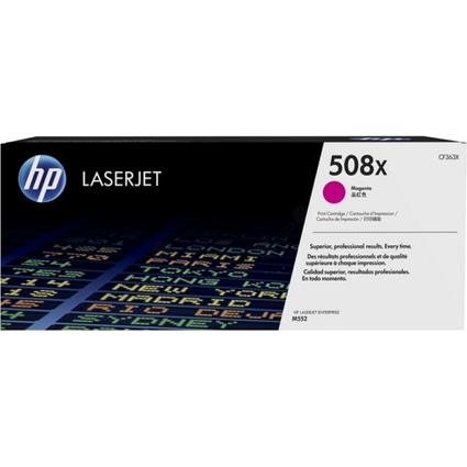 Original Toner No.508A CF363X für hp Color LaserJet, magenta