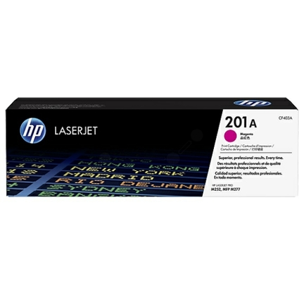 Original Toner No.201A CF403A für hp Color LaserJet, magenta
