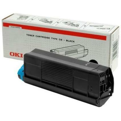 Original Toner für OKI Laserdrucker Color C5100, schwarz
