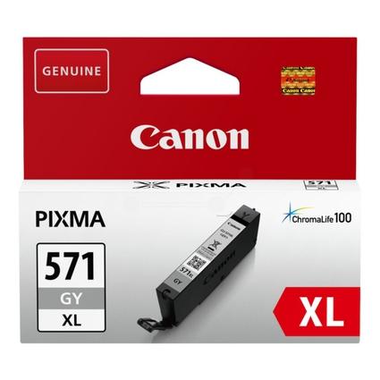 Original Tinte für Canon PIXMA MG5700, CLI-571, grau HC