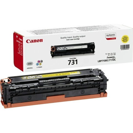 Original Toner für Canon Laserdrucker i-SENSYS LBP7100, gelb