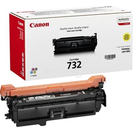 Original Toner für Canon LaserShot LBP-7780, gelb