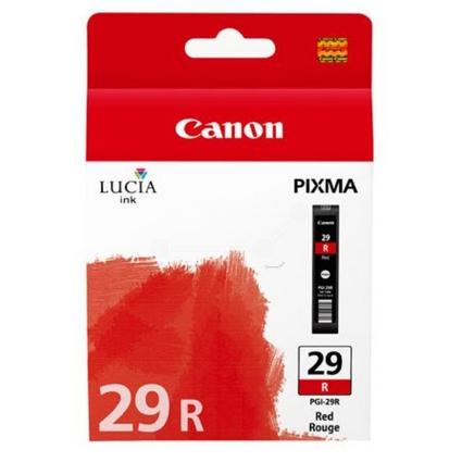 Original Tinte PGI-29 für Canon Pixma Pro, rot