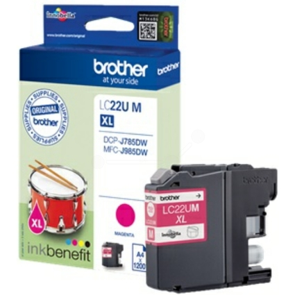 Original Tinte für brother MFC-J985DW, magenta