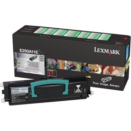 Original Rückgabe-Toner für LEXMARK E250/E350/E352,schwarz