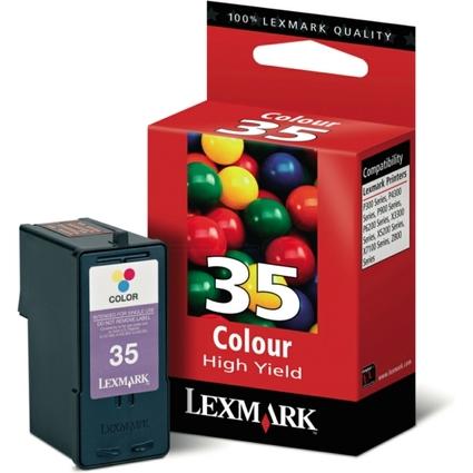 Original Tinte Nr.35 für LEXMARK P910/P6200/X7100, farbig