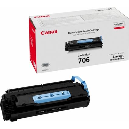 Original Toner für Canon LaserBase MF6530/MF6550, schwarz